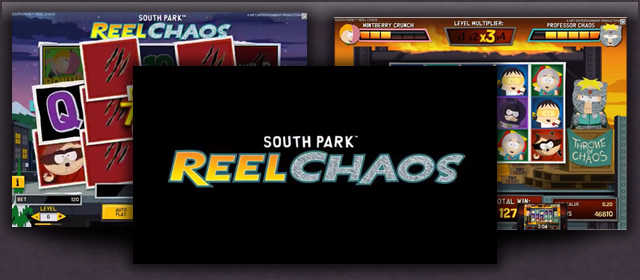Play South Park and collect 1400 free spins for the sequel
