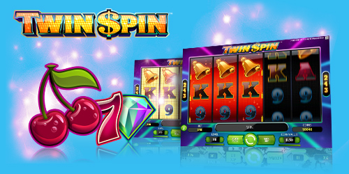 Vera & John, get 70 free spins on Twin Spin