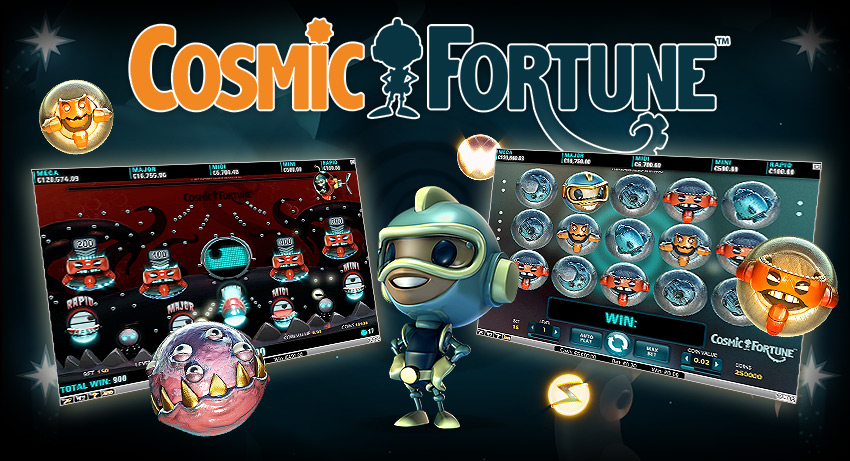 Cosmic Fortune live at some NetEnt casinos