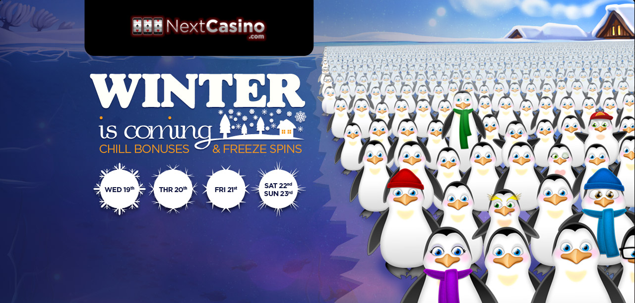 Winter is Coming at NextCasino