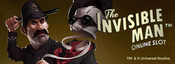 Claim up to 120 free spins on The Invisible Man