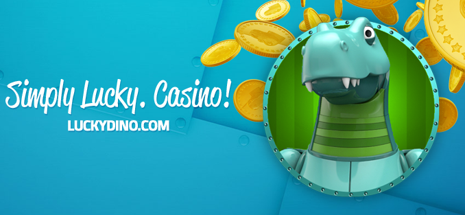 Claim a daily reload bonus at Lucky Dino Casino