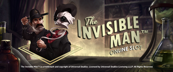 10 free spins on The Invisible Man at Redbet for new players