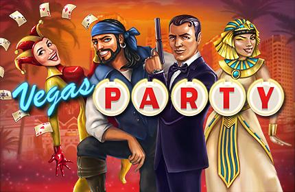 Vegas Party, exclusive NetEnt slot at Leo Vegas
