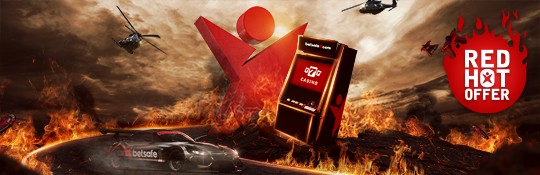 Too Hot to Handle, weekly Betsafe giveaway