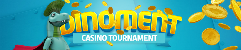 Dinoment Torunament starts Monday, qualify now for 10000 free spins