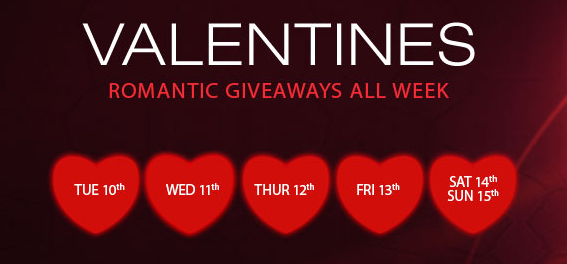 Valentine's Day promotions at CasinoLuck
