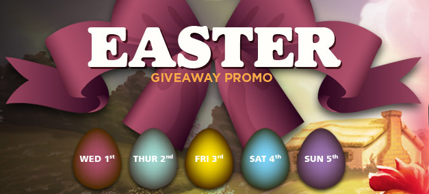 NextCasino's Easter Giveaway Promotion