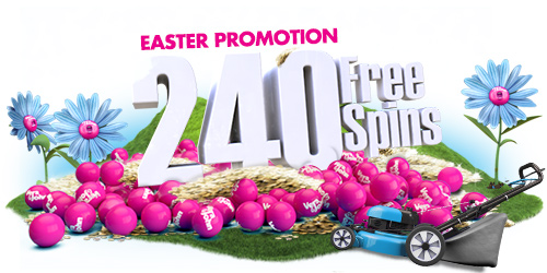 Celebrate Easter, 240 free spins at Vera & John
