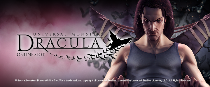 New slot release, Dracula, now online available