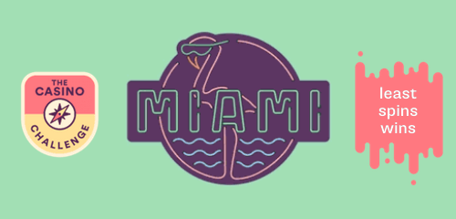 A new Casumo challenge, win a trip to Miami and cash prizes