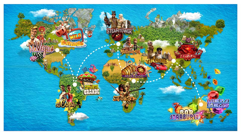 NetEnts Around the World Online Casino Promotion