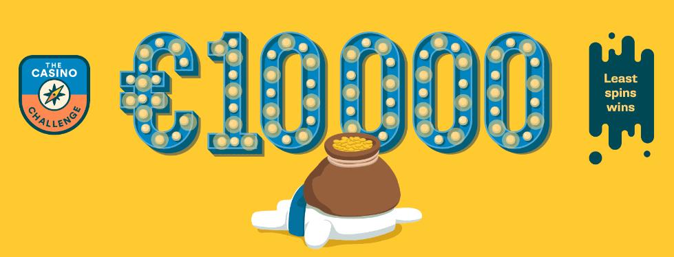 A new Casumo Challenge, win 10.000 Euros