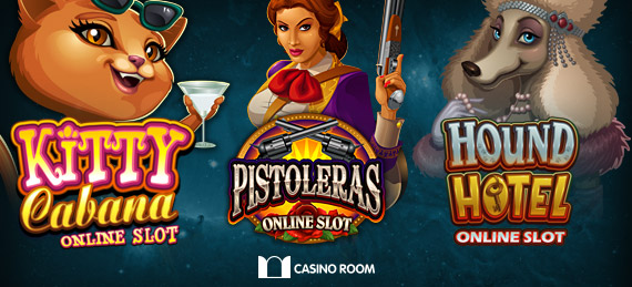 Three new Microgaming slots are now live