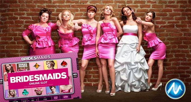 New Bridesmaids slot game now live at NetEnt casinos