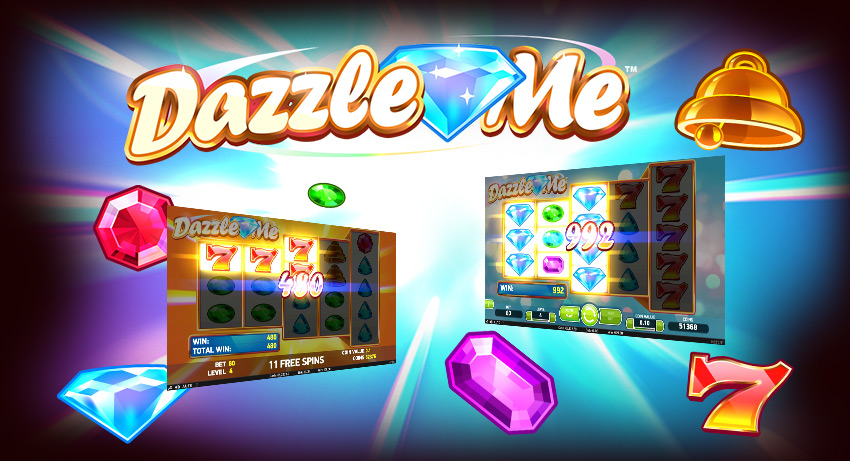 100 free spins on Dazzle Me for all new depositing players
