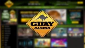 Gday Casino, NetEnt casino