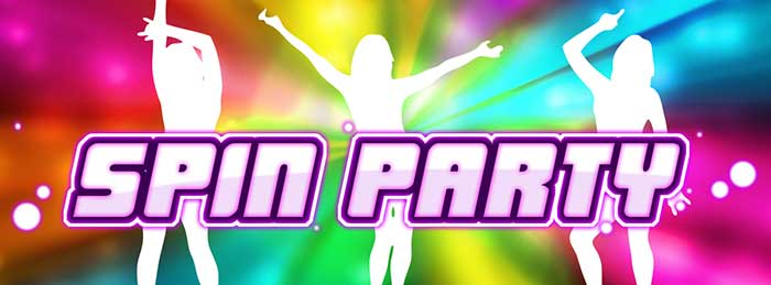 NetEnt casinos added new Spin Party slot game by Play'n Go