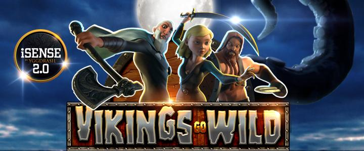 Play Vikings go Wild, new Yggdrasil Gaming slot game