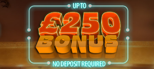 Free spins and up to £250 no deposit bonus for all new UK players