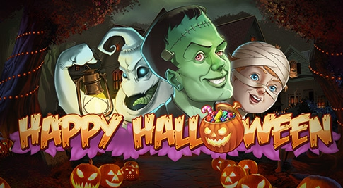 Happy Halloween, a new slot game from Play'n Go