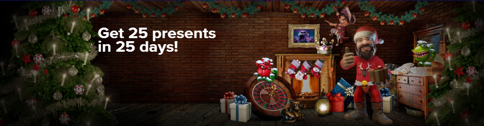 25 presents in 25 days at CasinoEuro