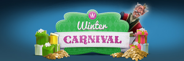 Winter Carnival at Casino Heroes, 6 weeks of daily promotions