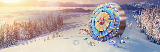 Jackpot Winter at Betsson, daily free spins and cash prizes