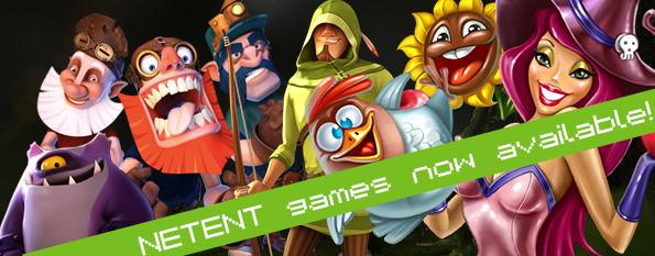 Bigbang Casino now offering NetEnt games