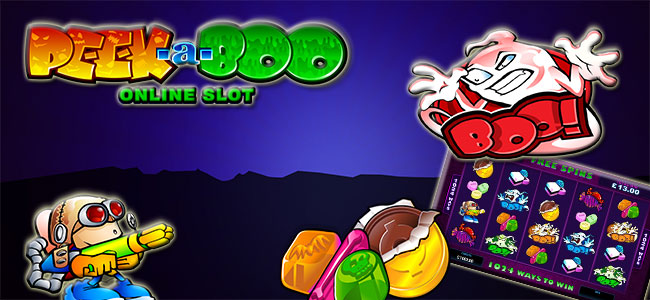 Play Peek-a-Boo slot game by Microgaming at Guts