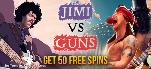 50 no deposit free spins, choose your game