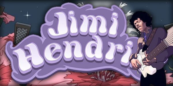 20 no deposit free spins on Jimi Hendrix, limited time