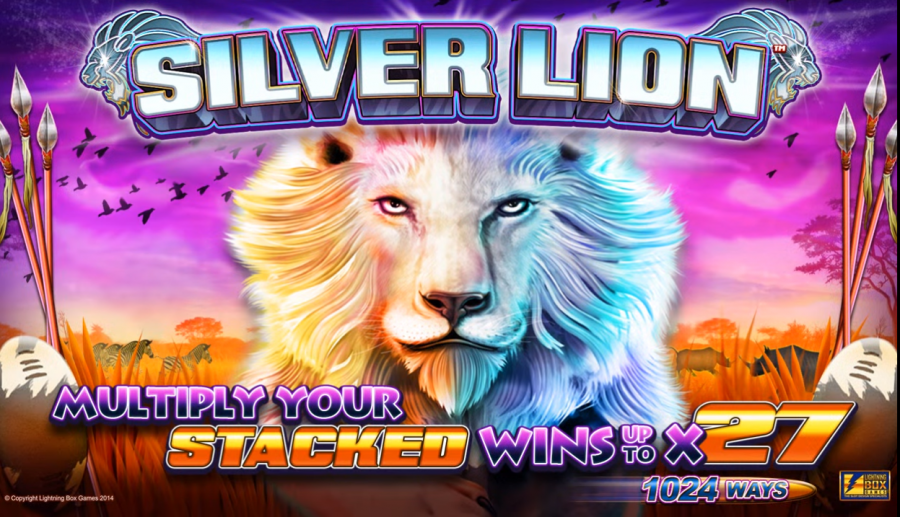 Silver Lion slot game, exclusively at Leo Vegas