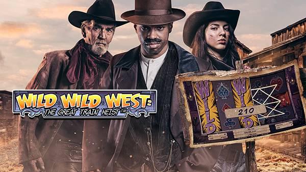 Exclusive NetEnt slot game, Wild Wild West