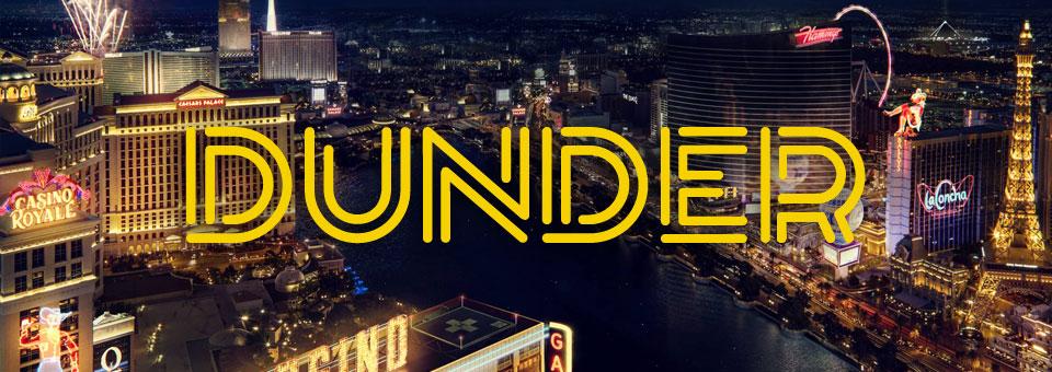 Dunder Casino, new NetEnt casino with big welcome bonus package