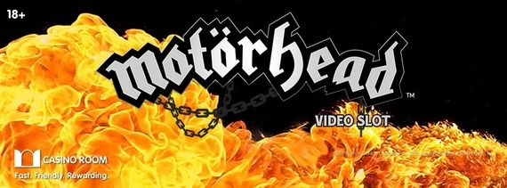 Claim 100 or 50 free spins on Motörhead slot game