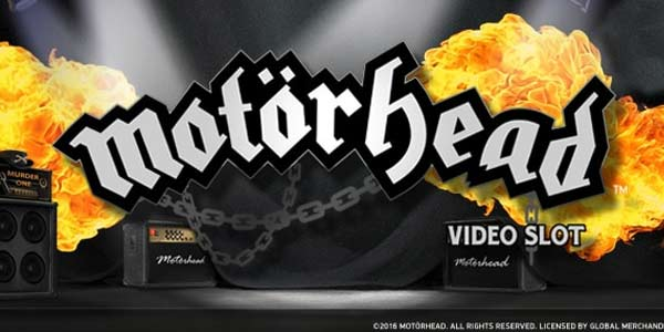 Motörhead slot game by NetEnt, out now