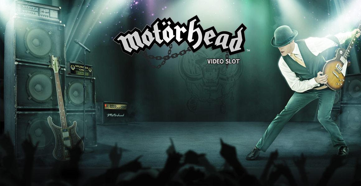 20 no deposit free spins on Motörhead