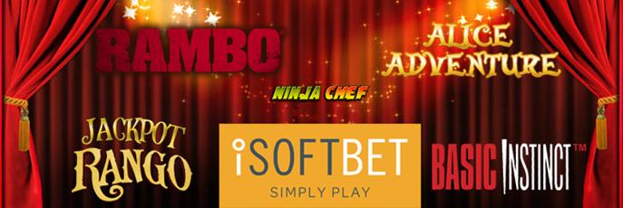 iSoftBet slot games now at Casino Ventura