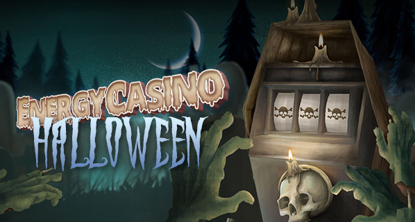 Daily reload bonus and free spins, Energy Casino Halloween