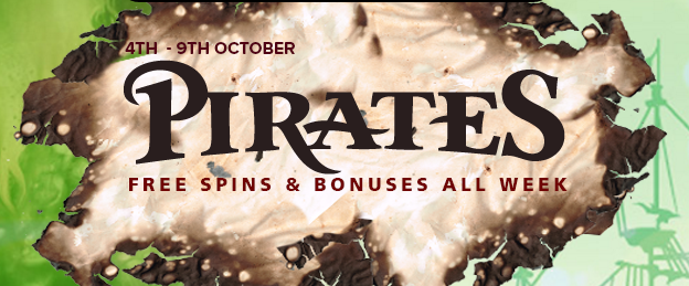 Pirates, daily promotions at CasinoLuck