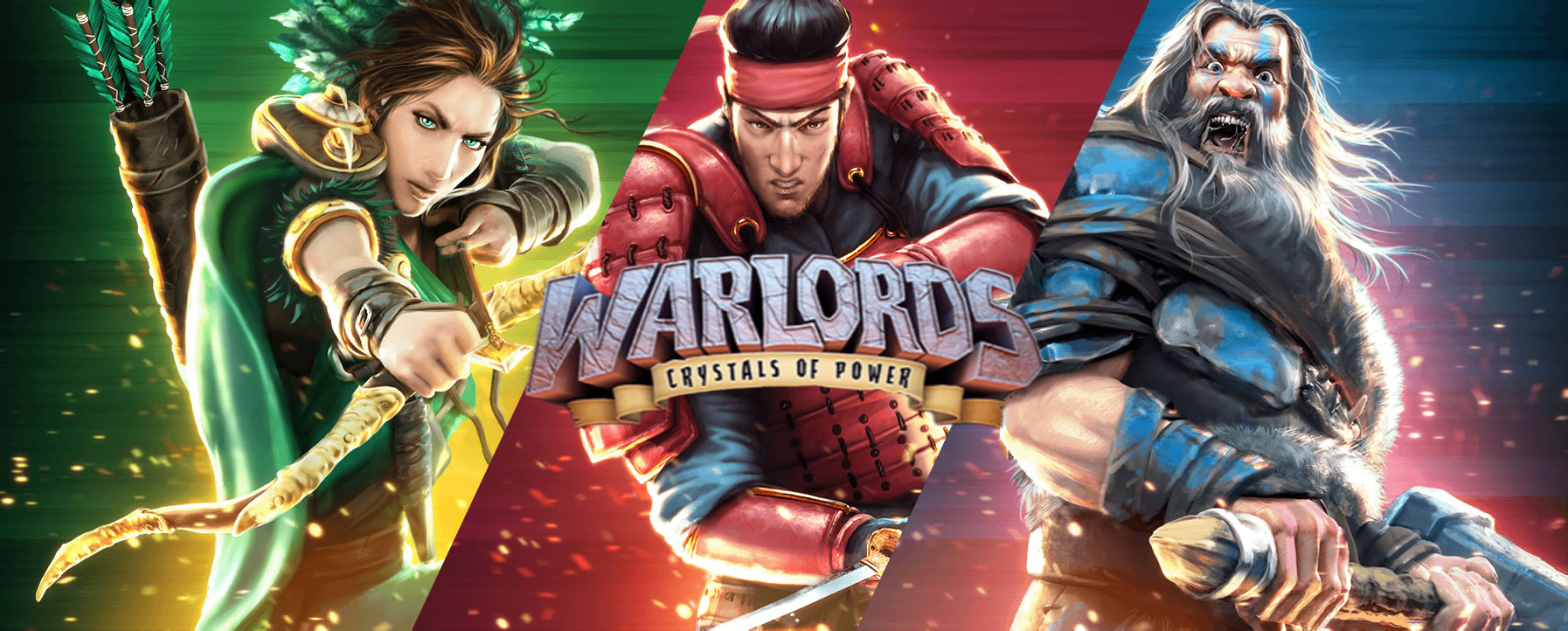 Warlords – Crystals of Power, now live at NetEnt casinos