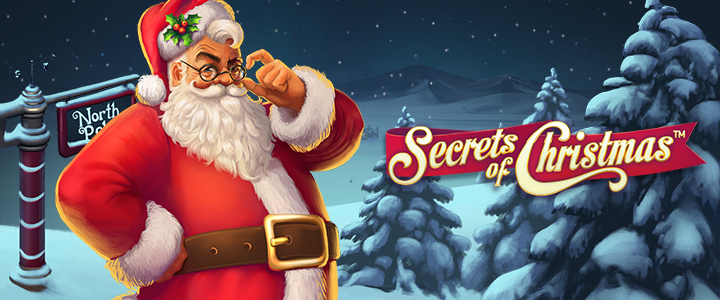 Secrets of Christmas, new NetEnt slot game, now live
