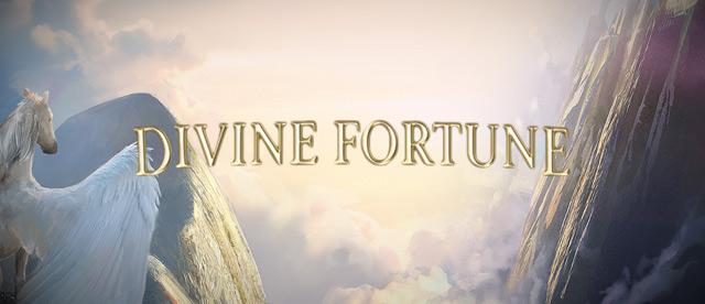 Divine Fortune, new progressive jackpot slot