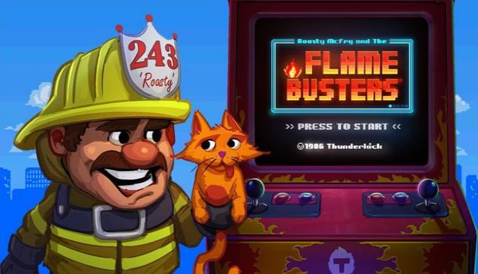 Try the amazing Flame Busters slot game