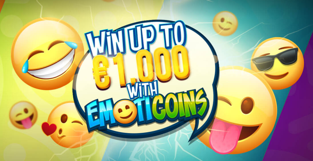 Win 1000 Euros with the Emoticoins promotion