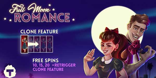 Full Moon Romance, new slot game from Thunderkick
