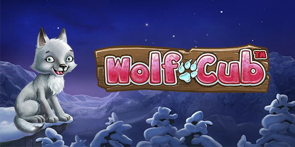 Wolf Cub slot game, now available at all NetEnt casinos
