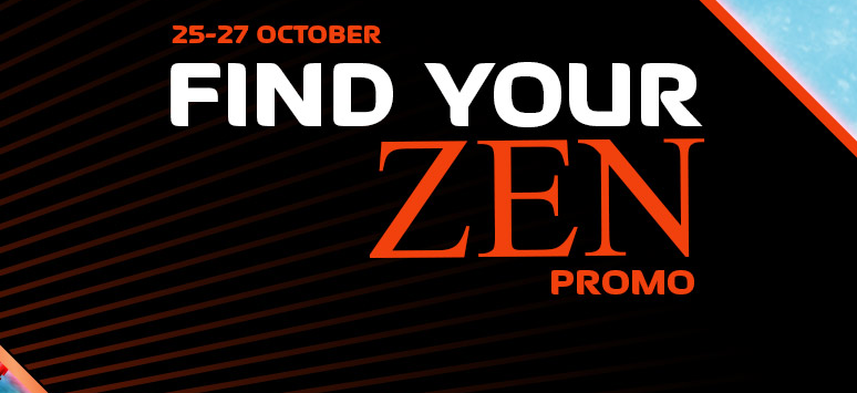 Find your Zen, three days of promotions at NextCasino