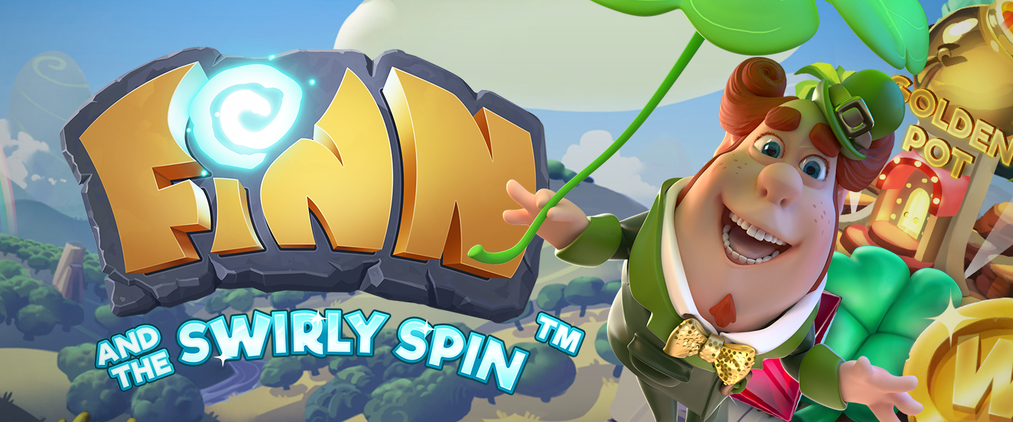 Finn and the Swirly Spin, new slot game by NetEnt